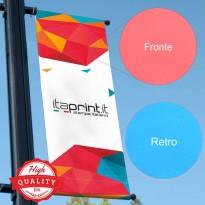 Striscioni Banner Bifacciale Altissima Qualità